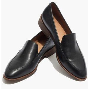 Madewell The Frances Loafer black leather